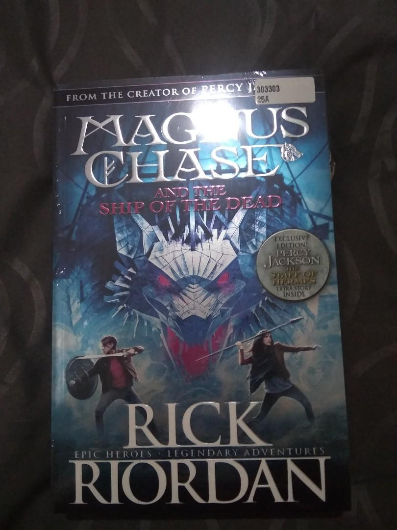 Magnus chase and the ship of dead #maugopay