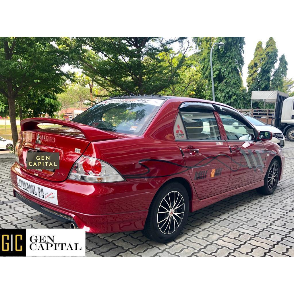 Mitsubishi Lancer GLX 1.6A • Lowest rental rates, good condition!