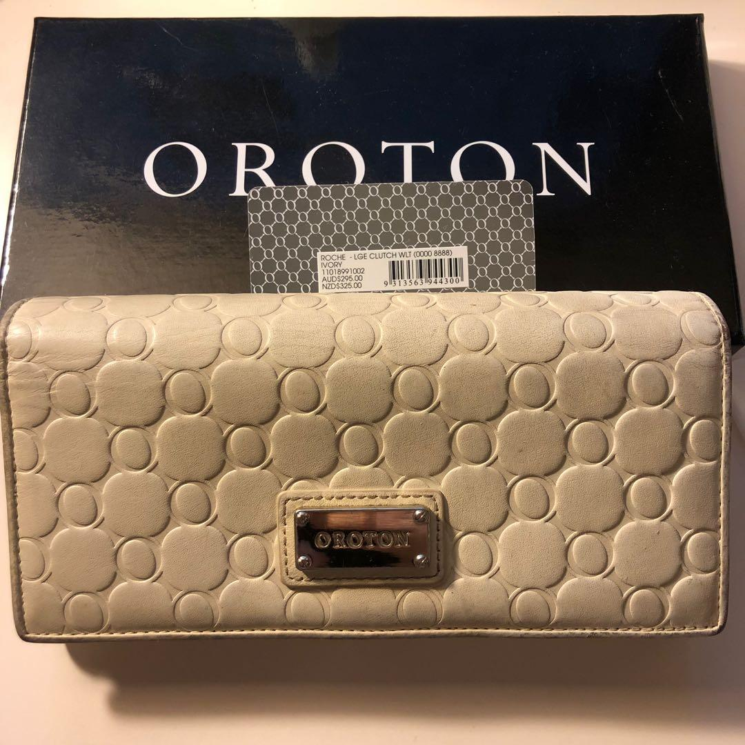 Oroton Roche large clutch wallet