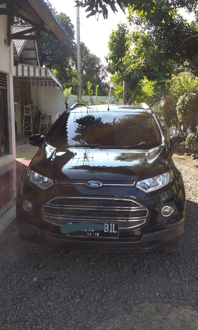 Overcredit Ford EcoSport Titanium Matic 2014, kondisi OK