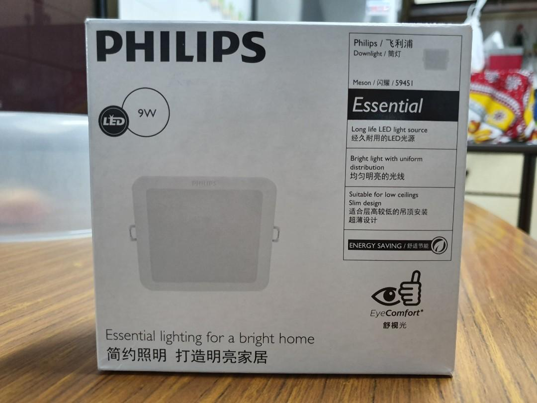 10 X Philips SmartBright LED Downlight kit 11W Complete DIMMABLE with PLUG 4000K