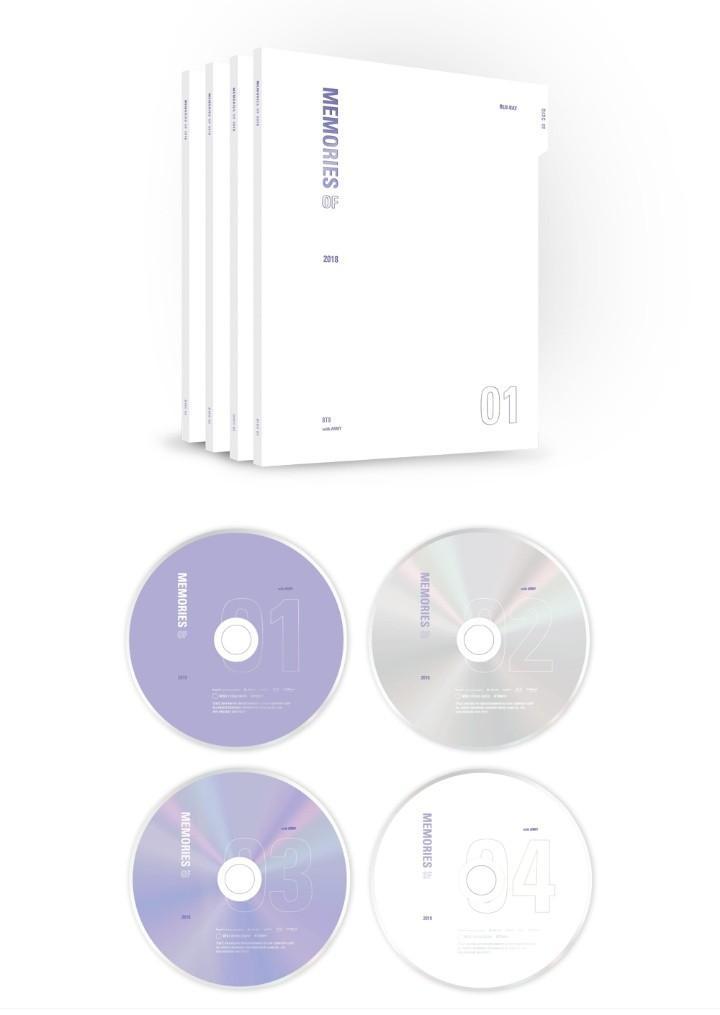 🇲🇾[PREORDER GO] #BTS MEMORIES OF 2018 DVD/BLURAY (Revised price)