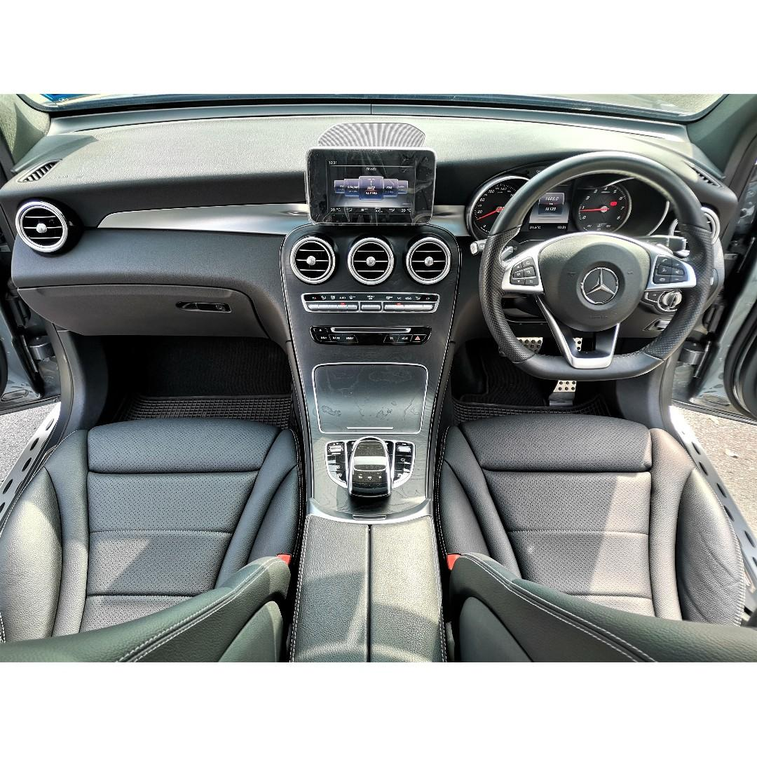2017 Mercedes-Benz GLC250 2.0 4MATIC AMG Line SUV [17,000KM ONLY][FULL SERVICE RECORD][UNDER WARRANTY][PROMOTION] 17