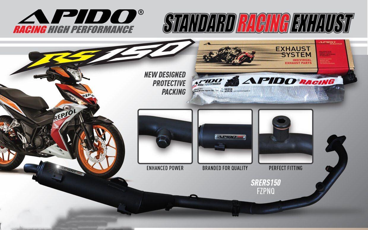 RS150R EXHAUST, Motorbikes, Motorbike Accessories on Carousell
