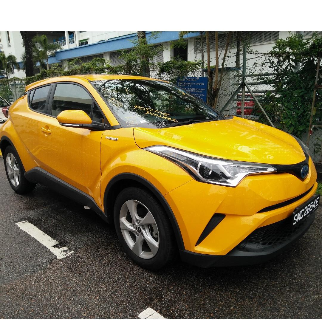 Toyota C-HR Hybrid 2018 ~ Only 1 unit left!!! Collect immediately!