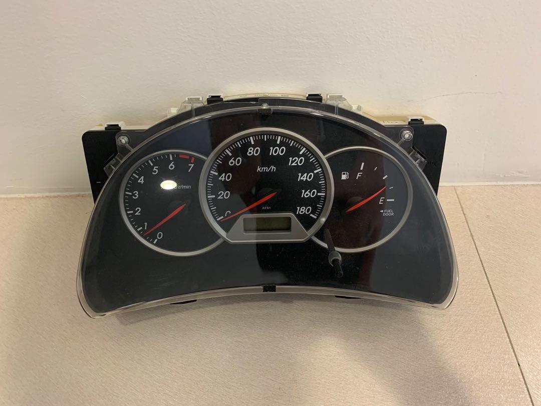 Toyota Wish ZNE10 Speedometer