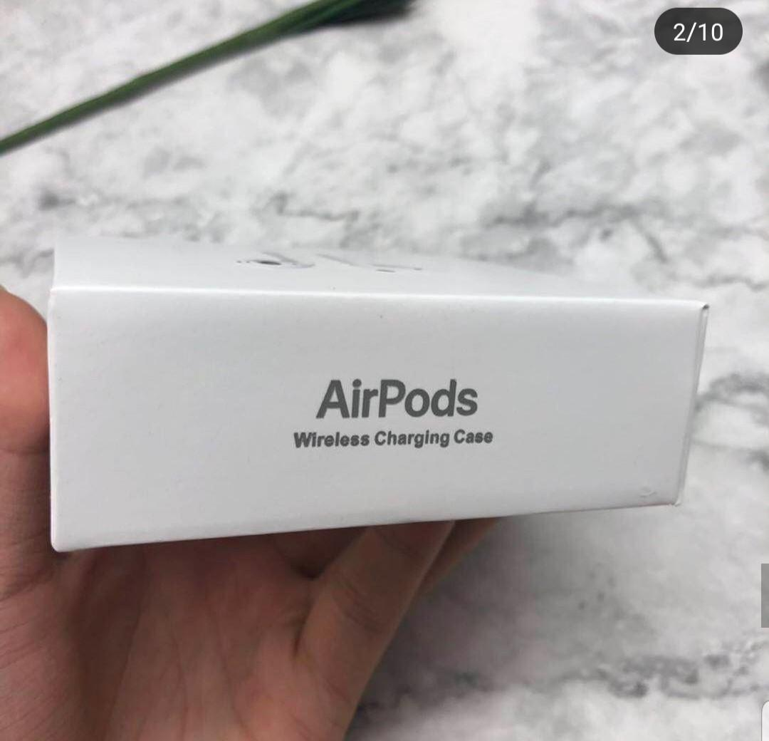 Unauthorized authentic airpods. Brand new. All sales final