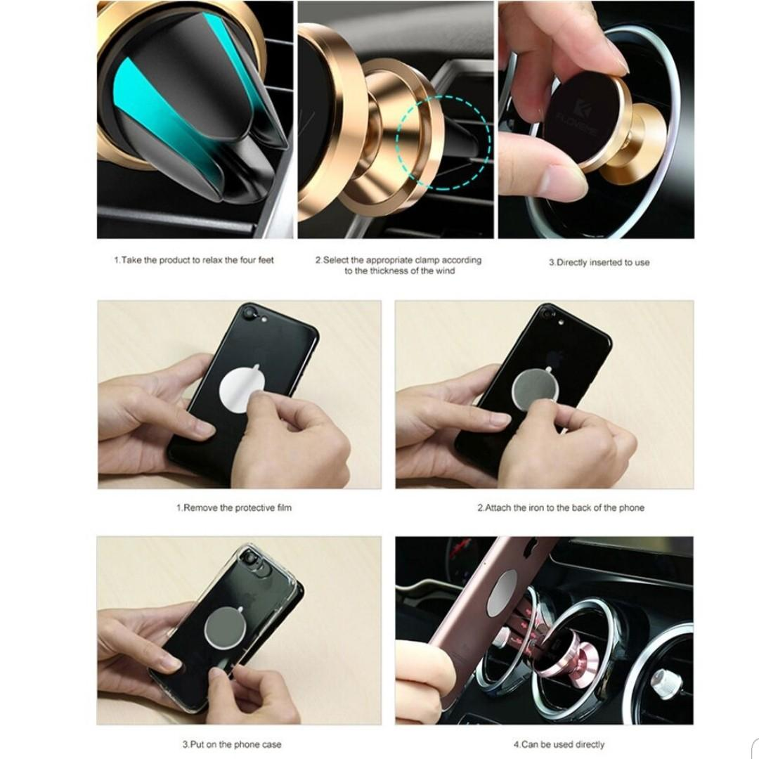 Universal Magnetic Phone Holder Mount