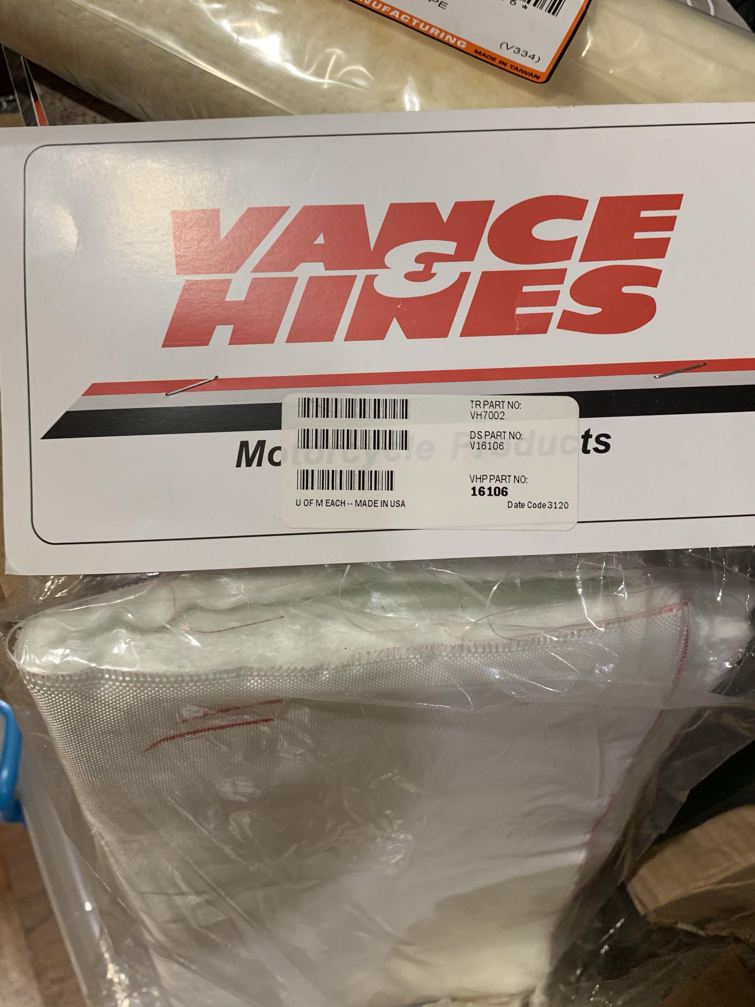 """16106 Vance /& Hines Fiberglass Muffler Repacking Kit 20/"""" x 12-1//2/"""" x 3//8/"""""""
