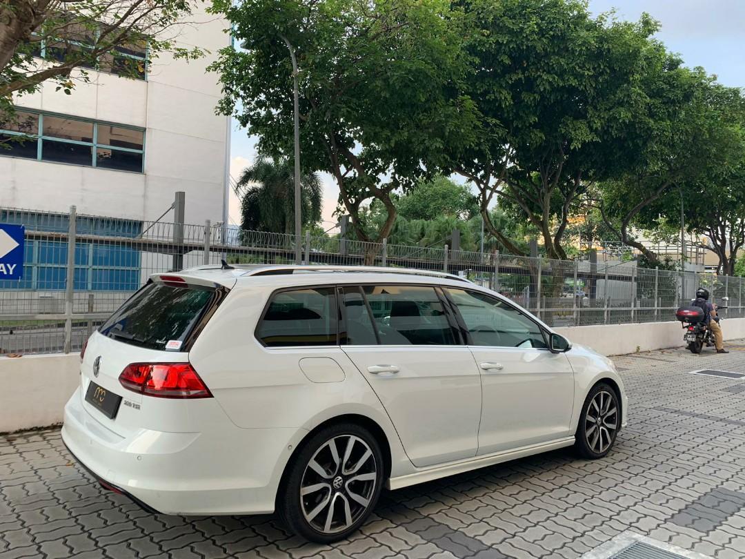 Volkswagen Golf 1.4 Variant R-Line TSI DSG Auto