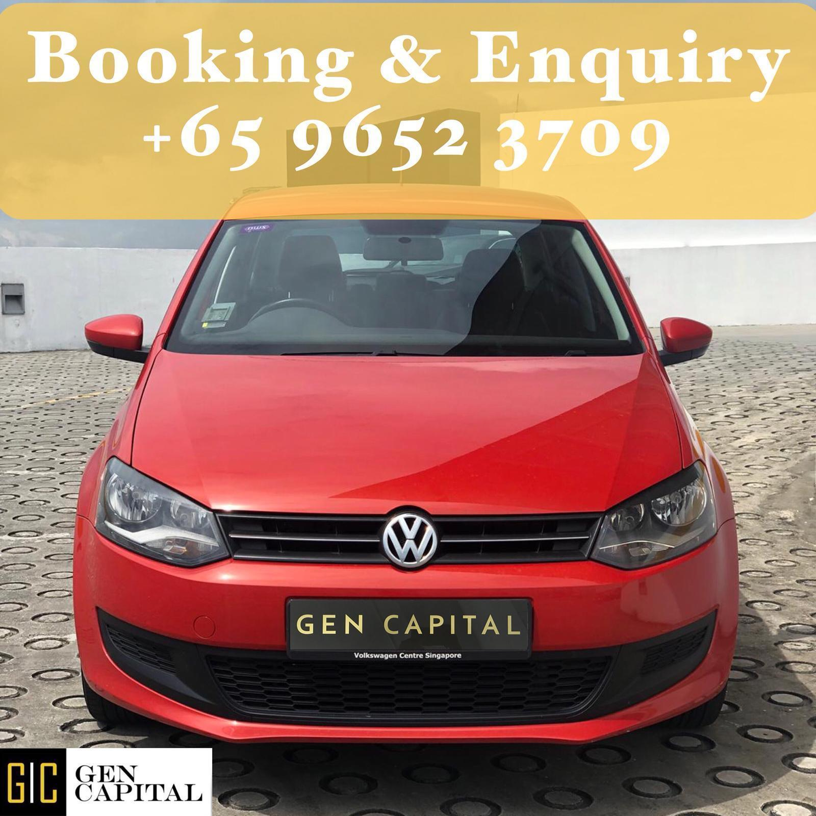Volkswagen Polo 1.4A • Lowest rental rates, good condition!