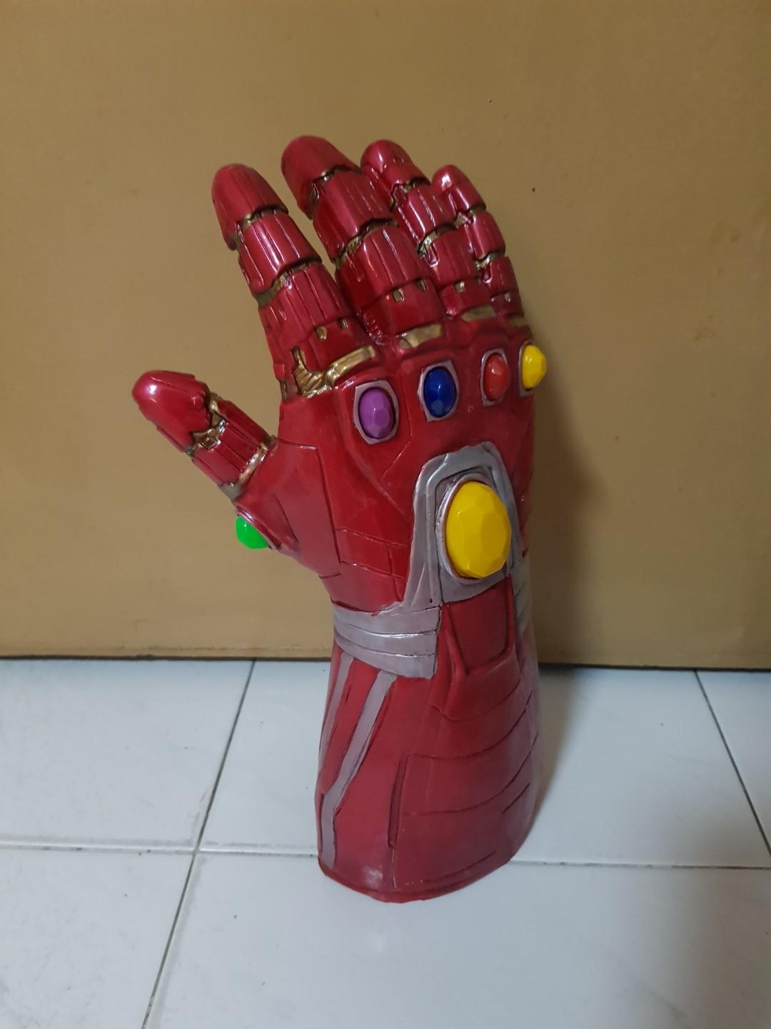 Wearable Iron Man Nano Gauntlet with LED