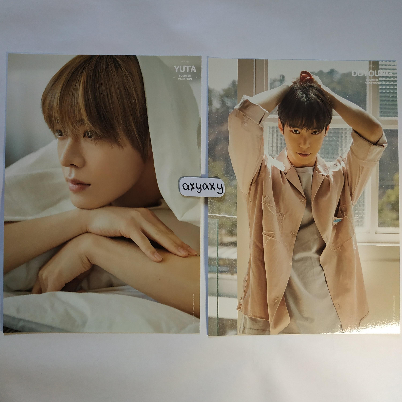 [WTS] NCT 127 Summer Vacation Kit A4 Poster Yuta + Doyoung Set