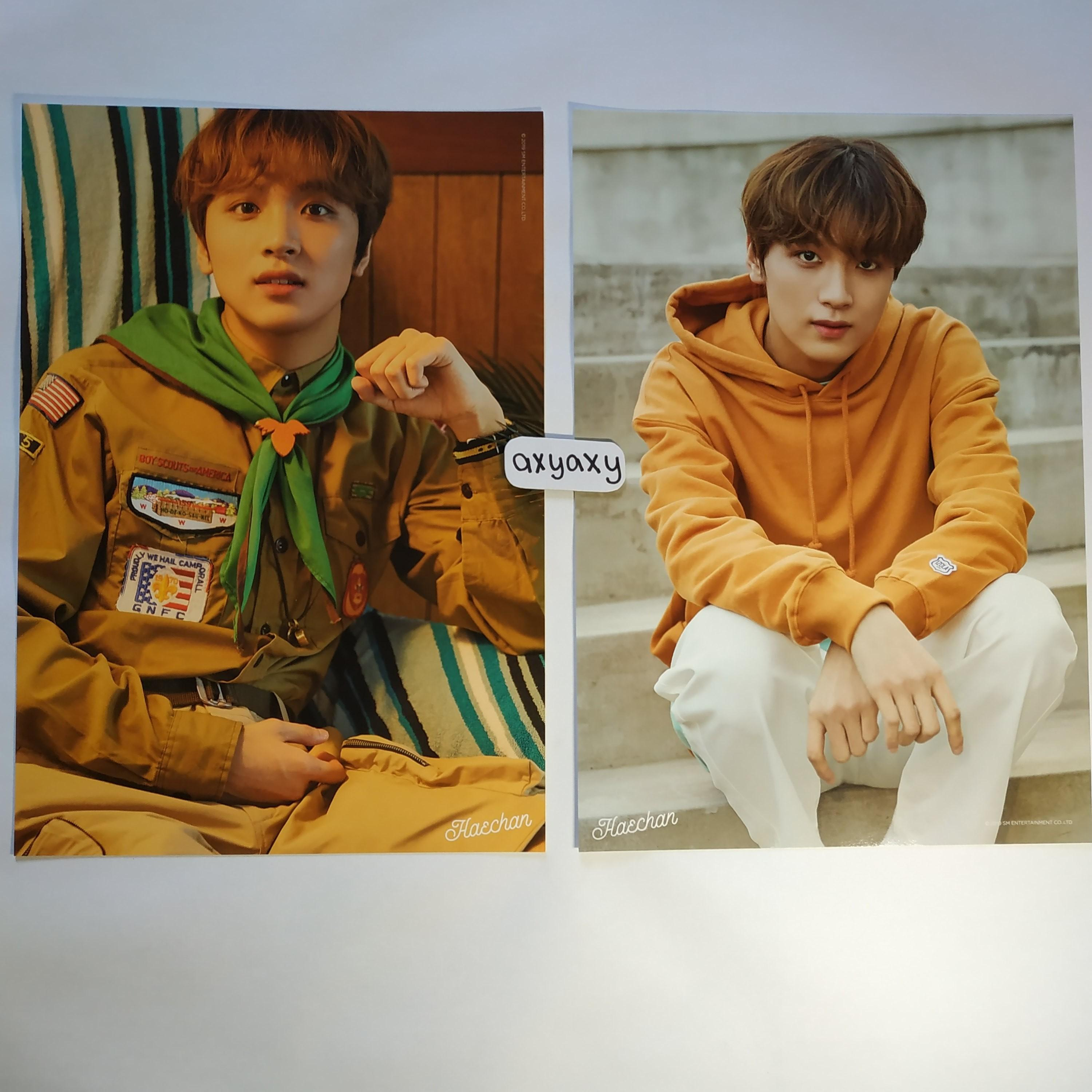 [WTS] NCT Dream Summer Vacation Kit A4 Poster Haechan Set