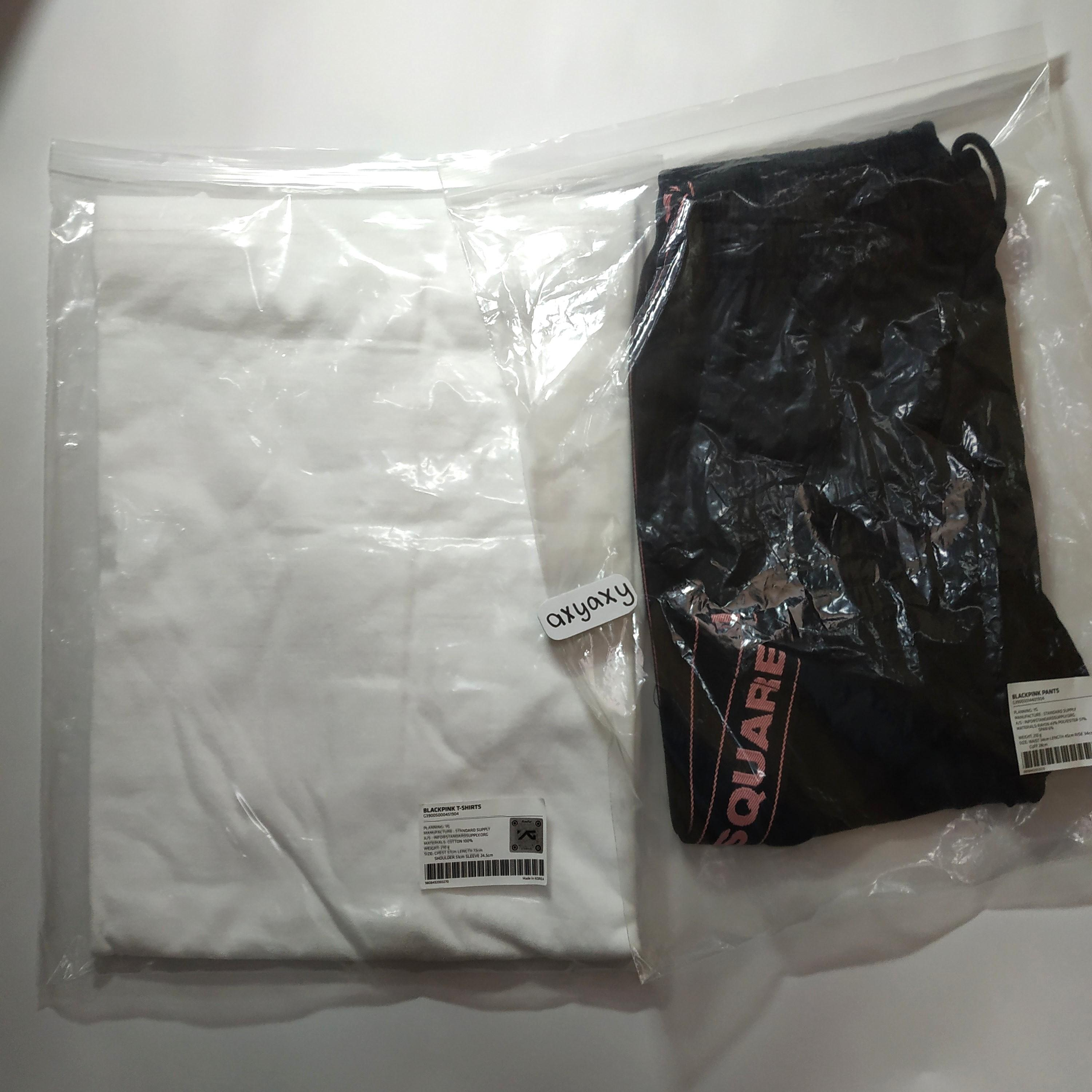 [WTS] YG BOX5 Let's Hangout Blackpink T-Shirt and Pant