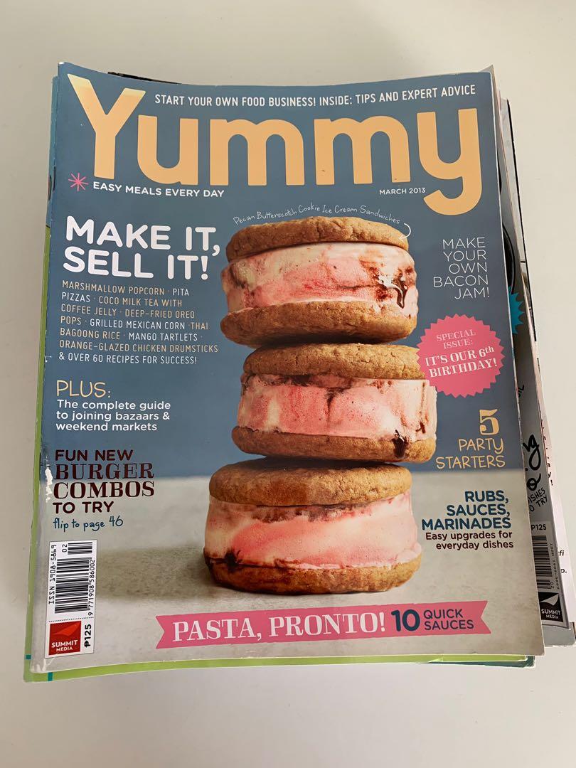 Yummy Magazines (Pinoy Recipes etc)