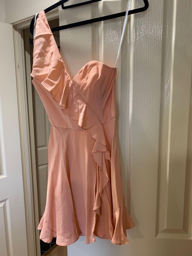 Zimmermann Women's Mini Silk Dress Size 0 Size Au 8