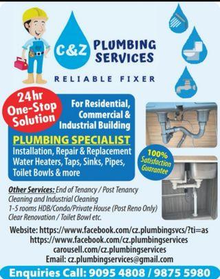 C&Z Plumbing Services 24hrs