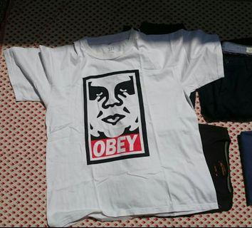 Kaos Obey Propaganda not Fred Perry not Kenzo not Levis