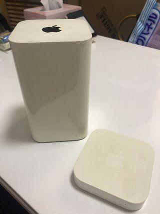 Apple Airport Extreme & Airport Express 蘋果路由器