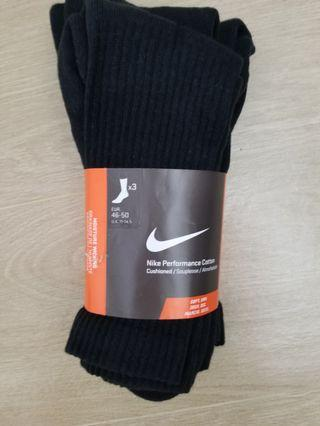 Nike black Socks - moisture wicking