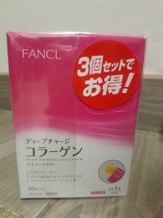 日本Fancl tense up jelly 膠原蛋白果凍啫喱 美肌