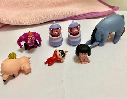 迪士尼系列扭蛋