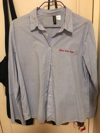 H&M直間恤衫