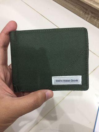 Dompet Pria Wanita Wallts Wallet Goods Hijau Army
