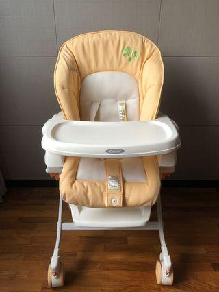 🚚 Baby High Chair / Sleeper / Rocker