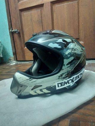 Fullface Helmet BMX