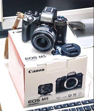 Canon EOS M5 Kit Ef 15-45mm