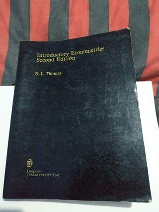 Introductory Economics Second Edition by R. L. Thomas