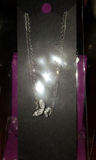 純銀蝴蝶手鏈
