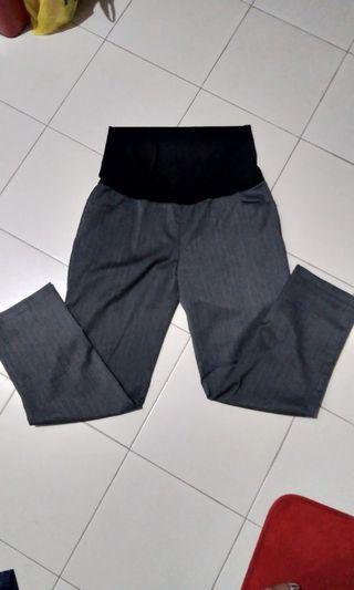 🚚 Bloom Maternity Pants(grey) XL