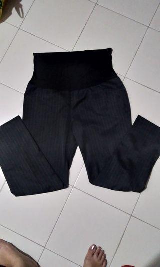 🚚 Bloom Maternity Pants(black) XL