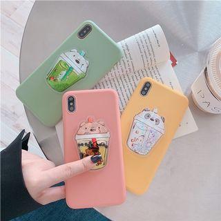 [Pre -Order ] 3D iphone Case Bubble Tea