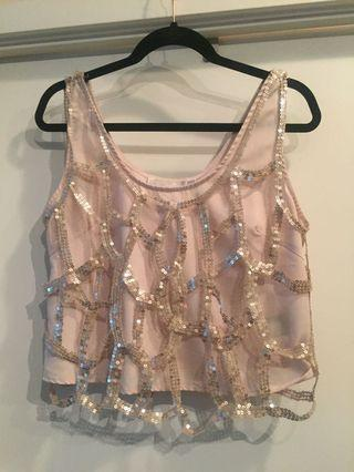 Sequinned Crop - Large