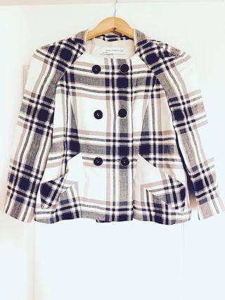 Zara Cropped Jacket XS
