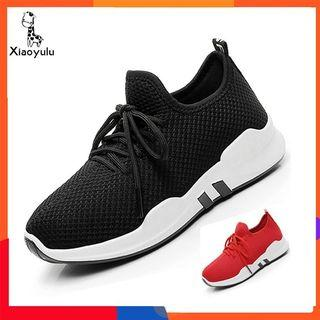 Ready Stock📣Casual Women Running Sport Shoes Lace up Breathable Mesh