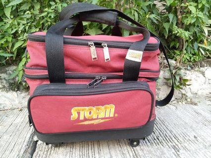 Bowling ball bag storm and wrister