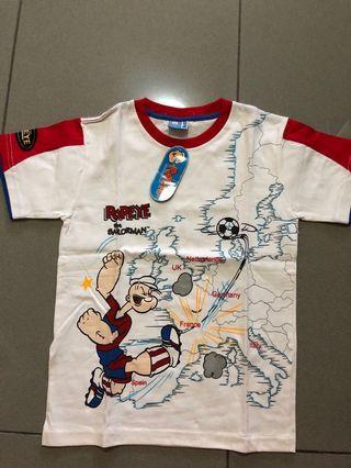 🚚 BNWT Popeyes Tshirt