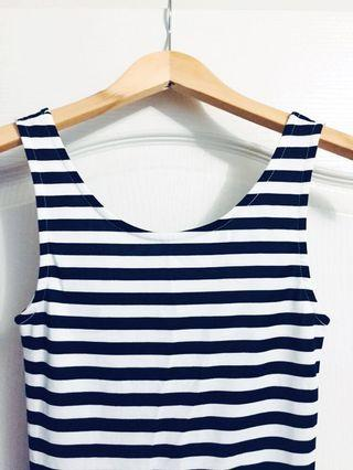 *Reduced Price* H&M Striped Dress XS