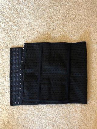 Women's waist trainer black