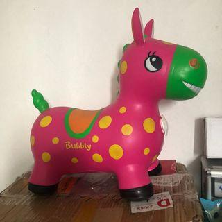 Inspired rody horse toy