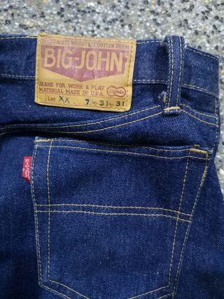 Big John Jeans (Half Selvedge)