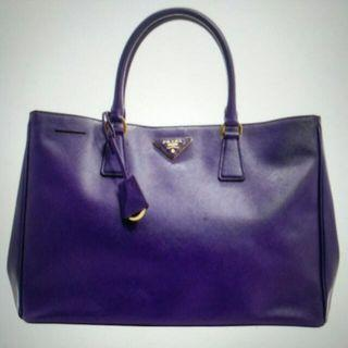 Prada Saffiano Lux Large Tote - Authentic #AmplifyJuly35