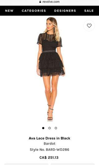 Black Lace Dress (US Small)