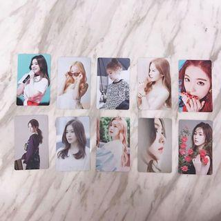 INSTOCK 10 RV Irene Photocards