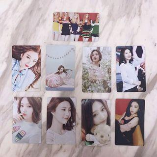 INSTOCK 20 RV Joy Photocards